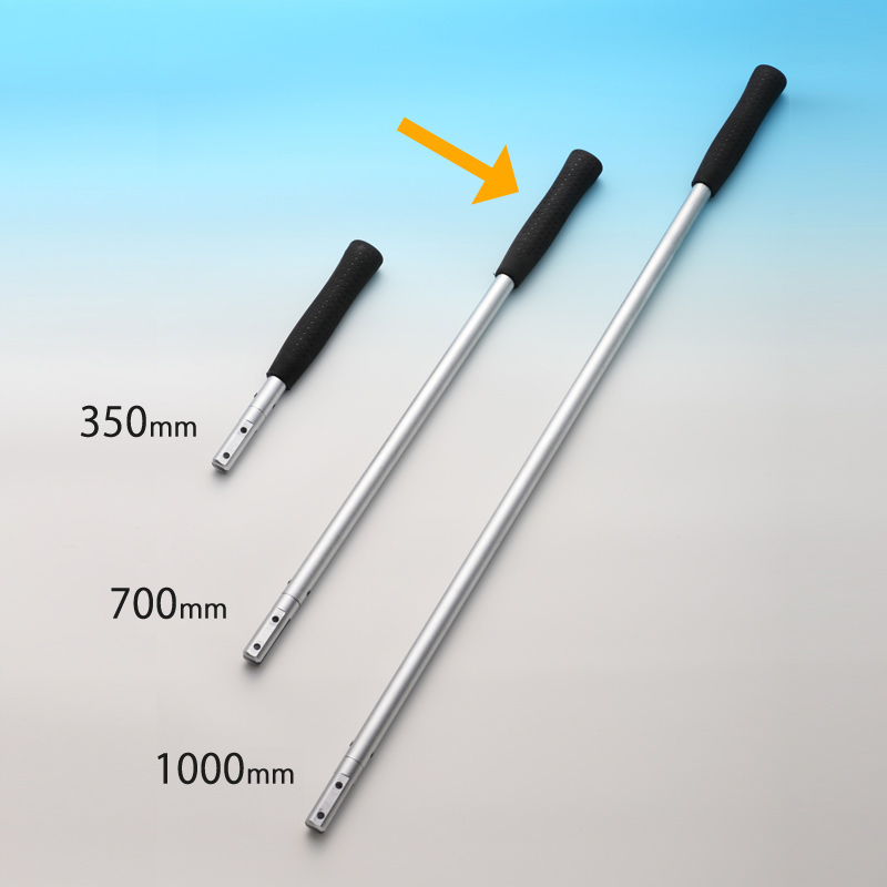 MO-302 Pipe grip for the scraper stick with super hard blade(700mm)